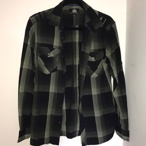 Rock & Republic Flannel Shirt